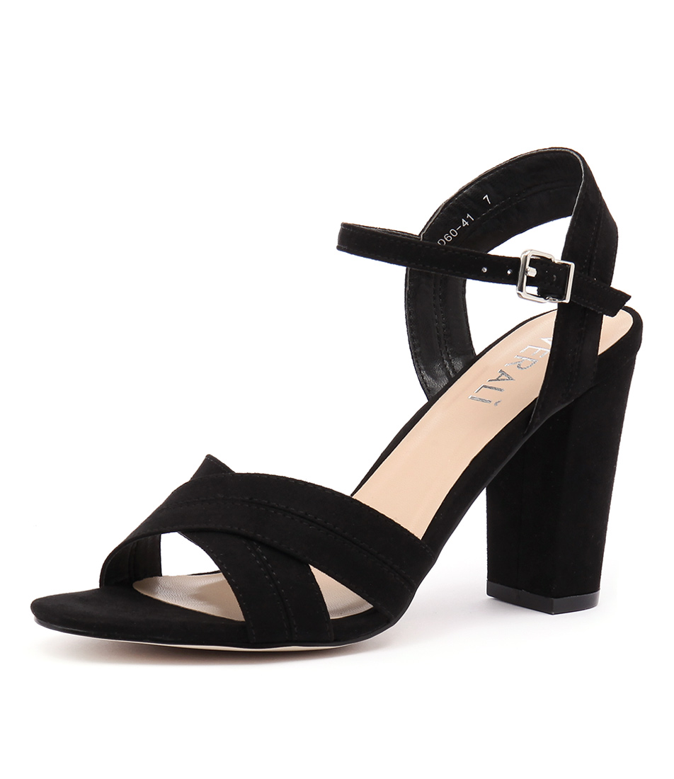 Verali Contessa Black Micro Sandals