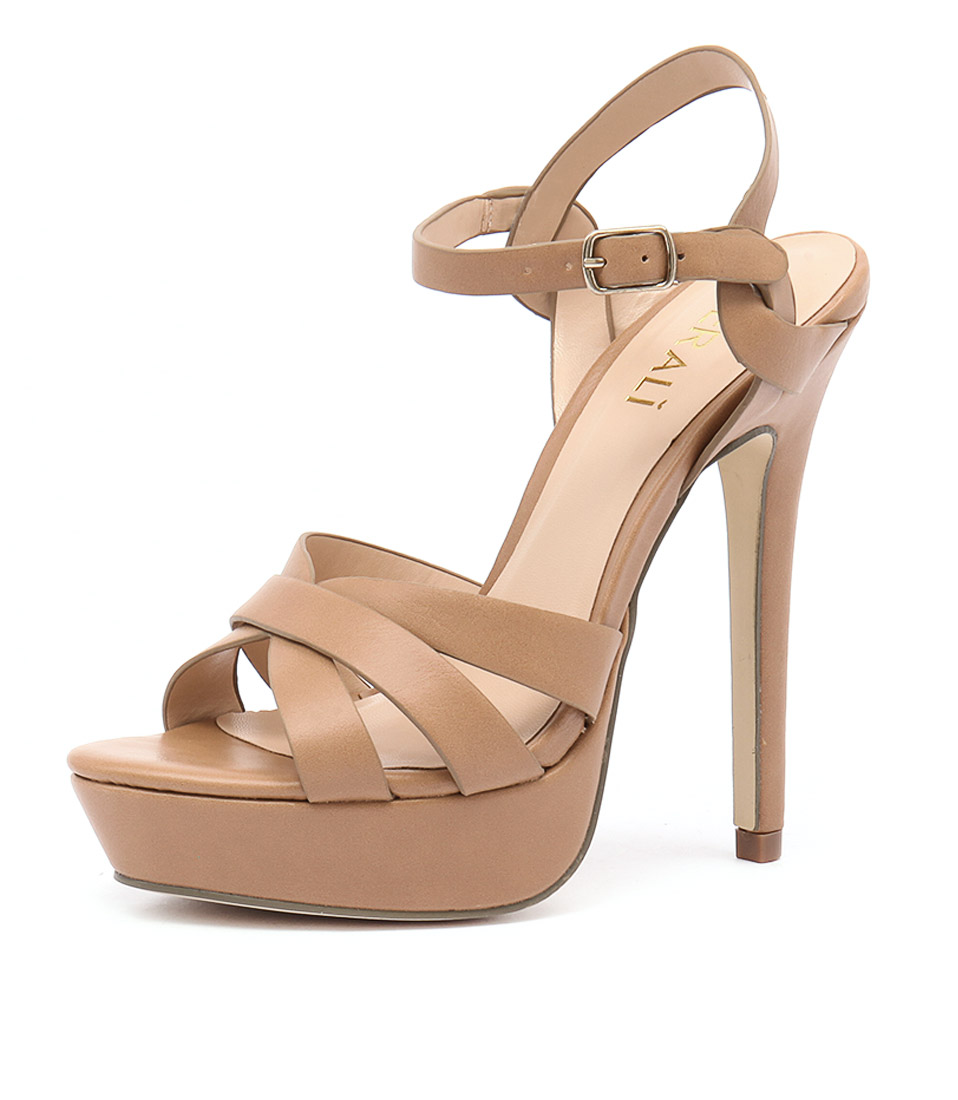 Verali Harriet Light Tan Kid Sandals