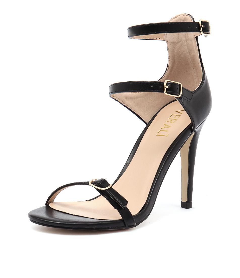 Verali Olga Black Sandals