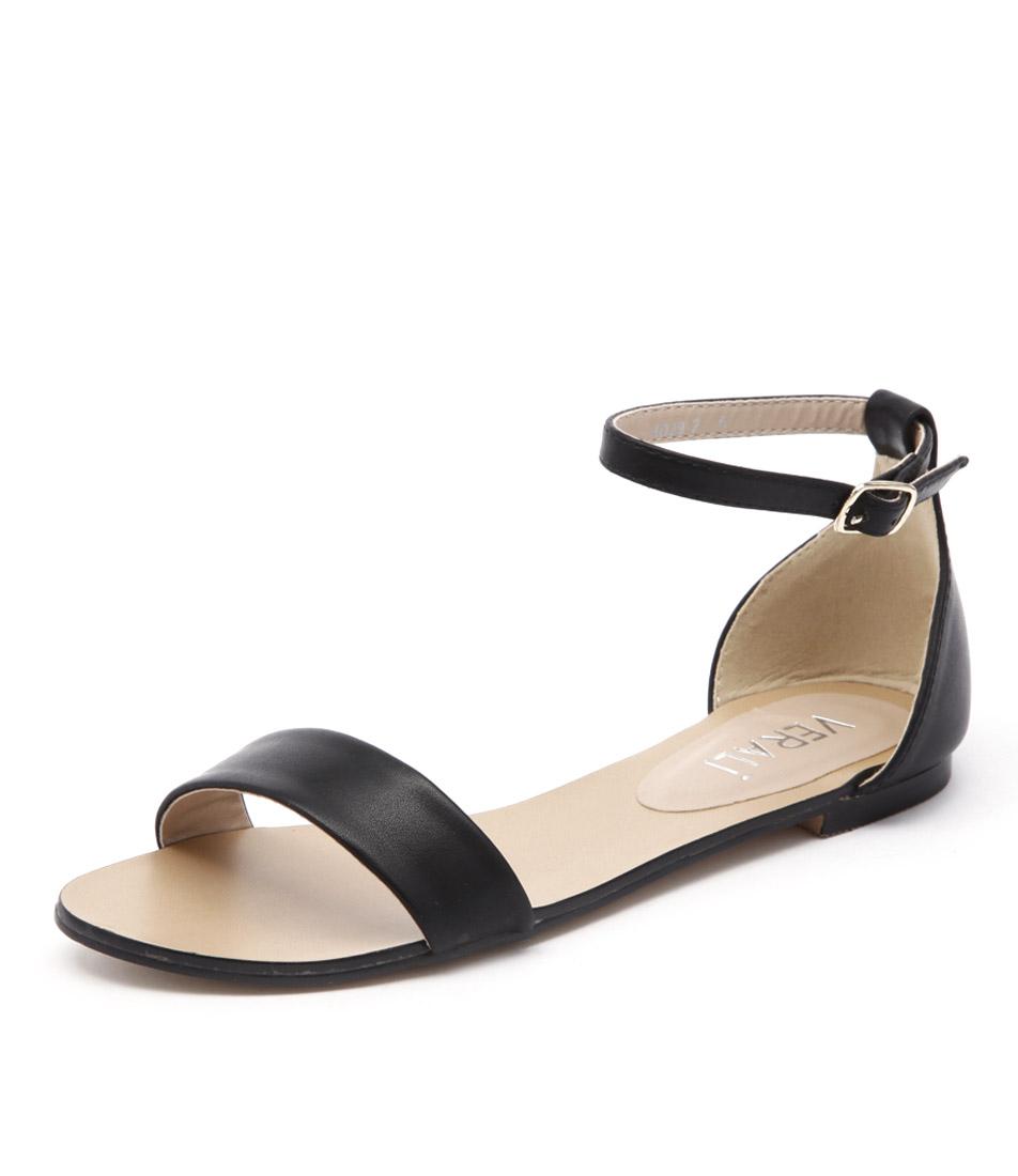 Verali Rae Black Sandals