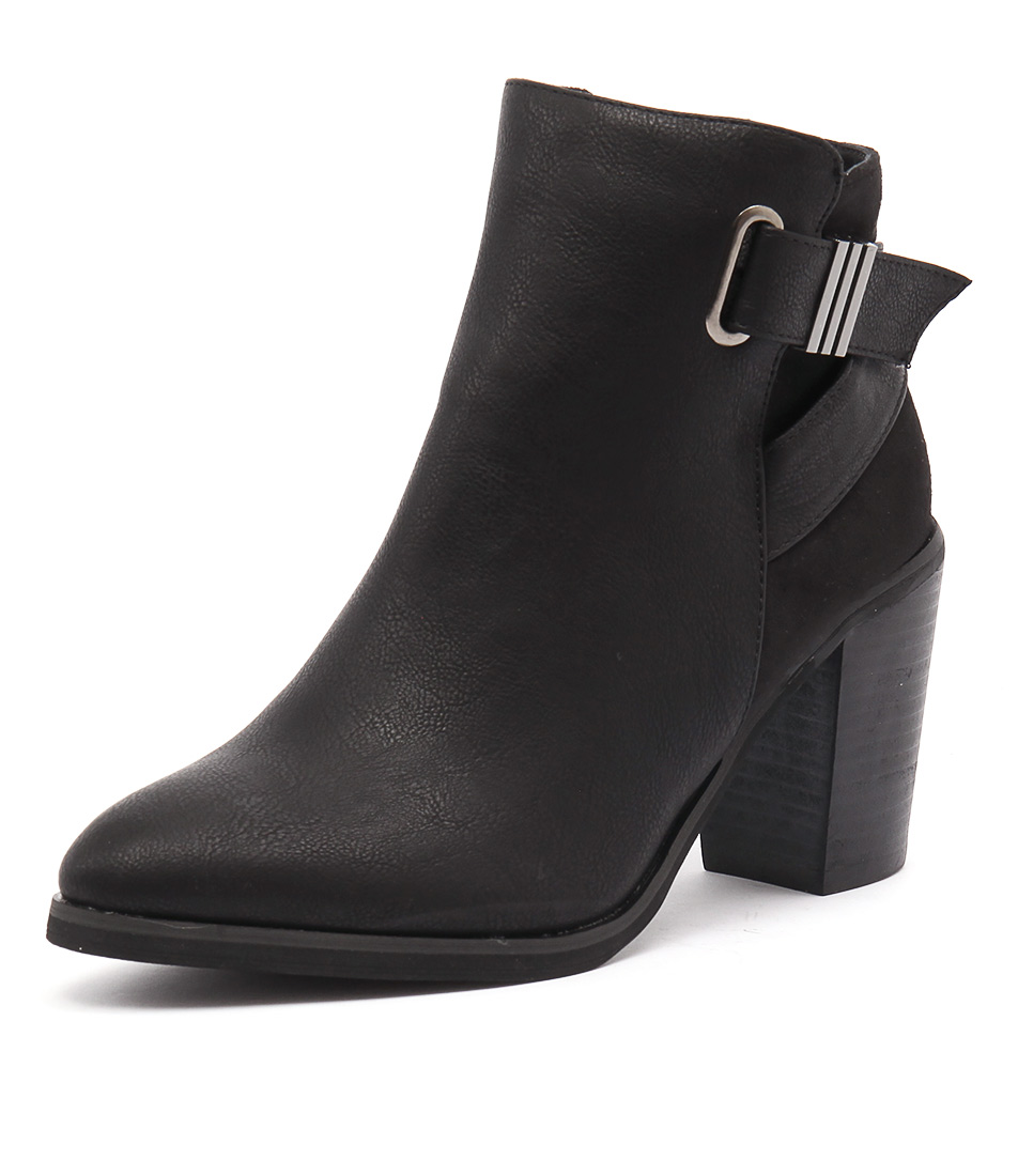 Verali Alice Black Boots