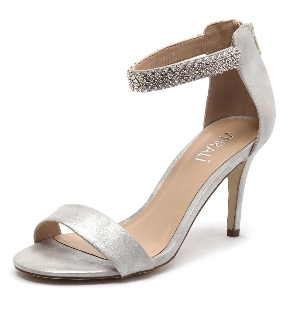 Verali Magnolia Silver Sheen Sandals online