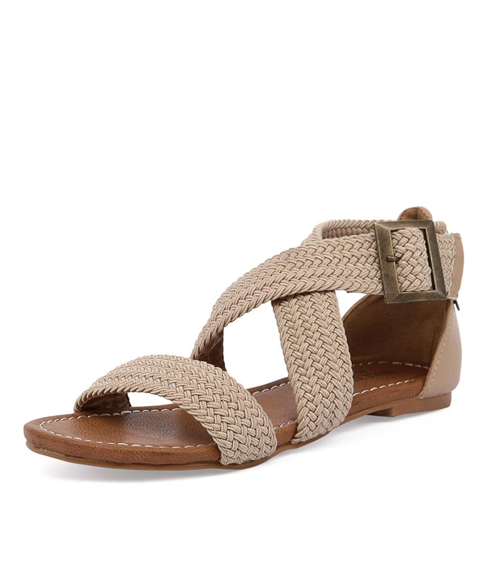 Walnut Melbourne Amber Rope Sandal Sand Sandals