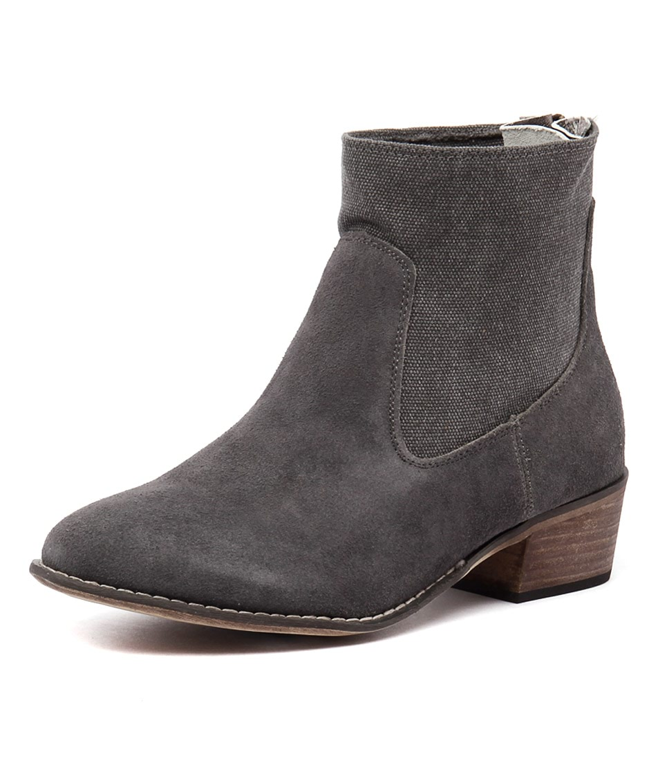 Walnut Melbourne Smith Boot L Grey Boots