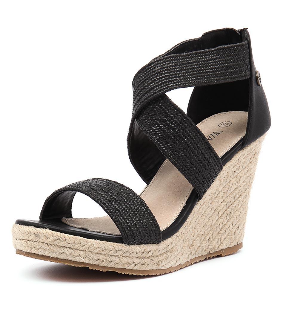 Walnut Melbourne Dusty Black Sandals