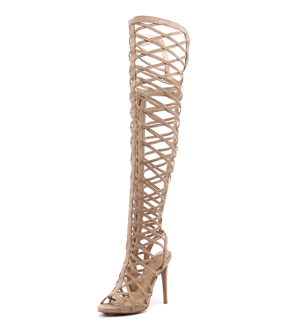 Wanted Geiger Nude Sandals