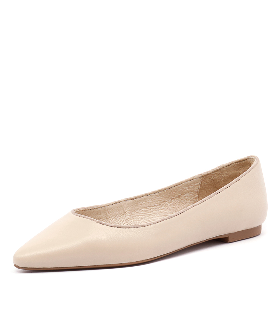 Wanted Paris Nude Leather Dress Pumps