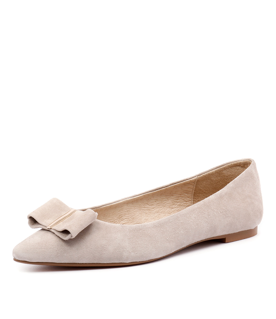 Wanted Pompeii Nude Suede Dress Pumps