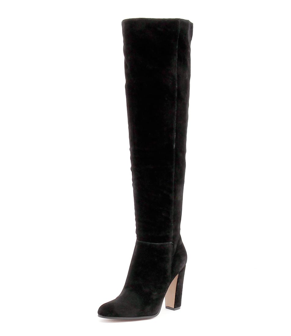 Windsor Smith Gemm Black Suede Boots