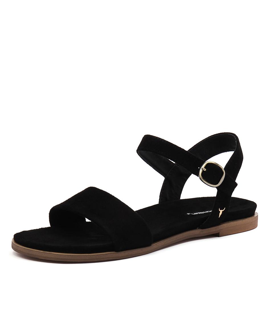 Windsor Smith Bae Black Sandals