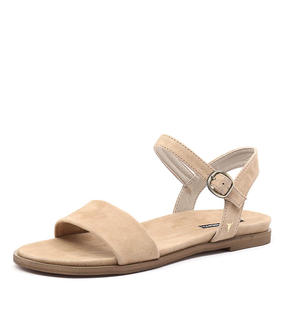 Windsor Smith Bae Camel Sandals