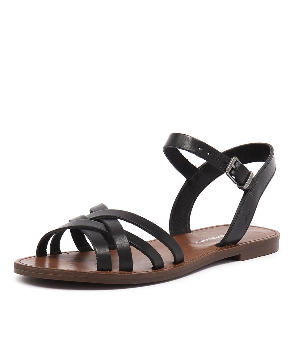 Windsor Smith Bente Black Sandals