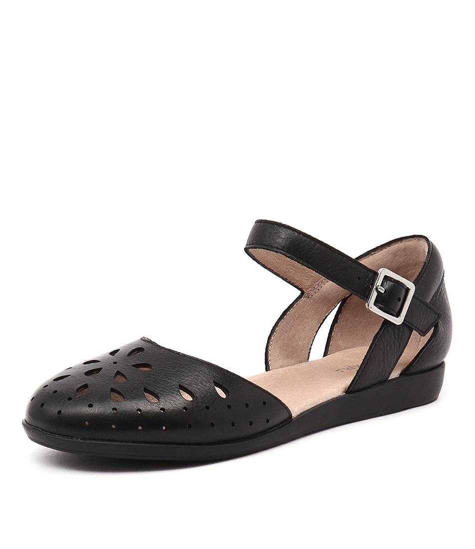 Zensu Heaven Black Sandals