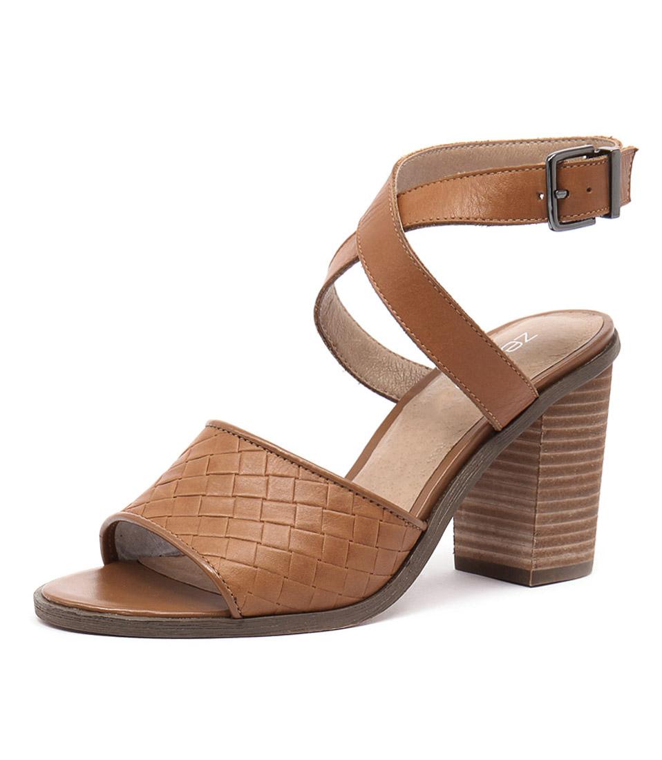 Zensu Winnie Cognac Sandals