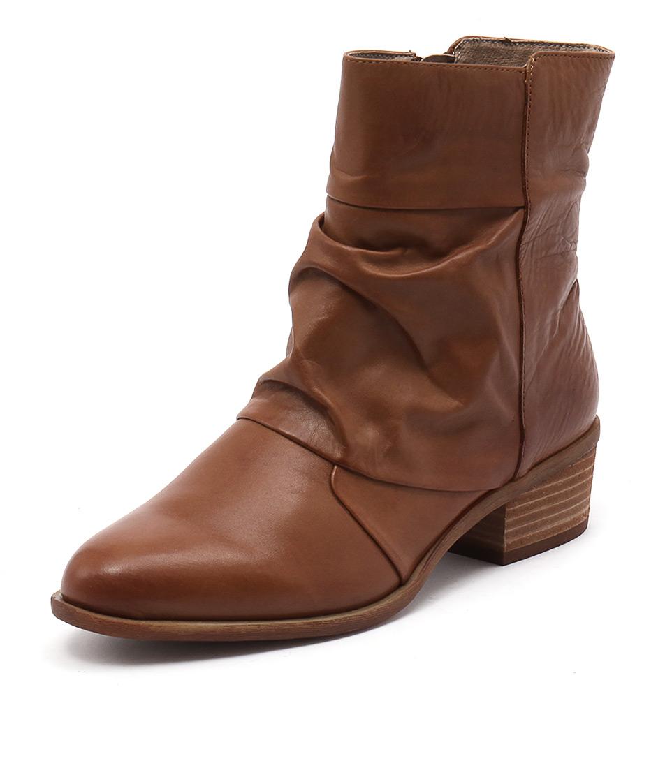 Zensu Resist Cognac Boots