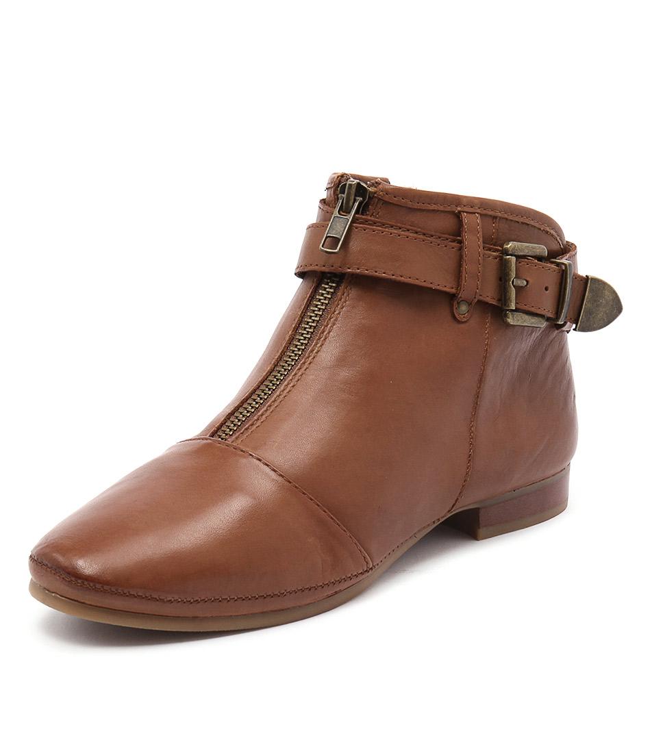 Zensu Fancy Cognac Boots