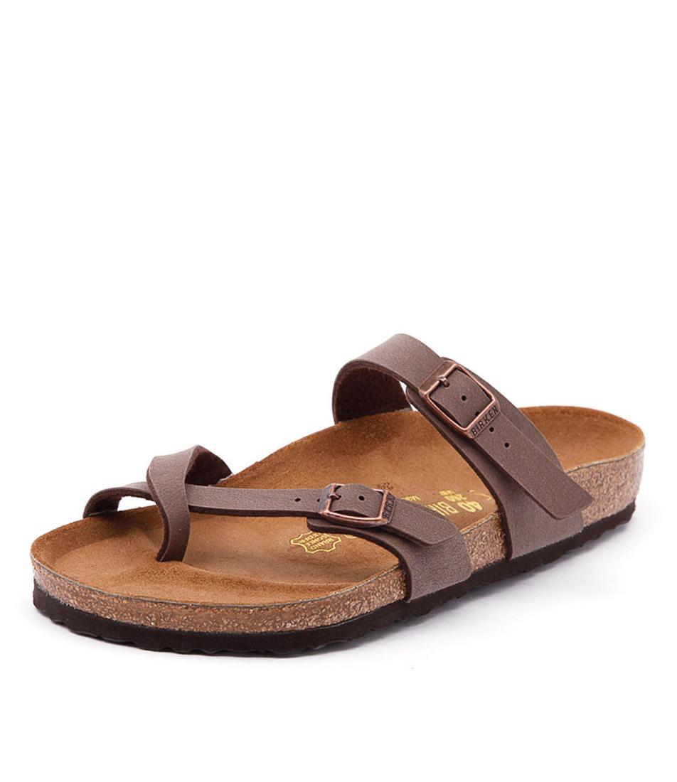 Birkenstock Mayari Mocca Birko-Flor Sandals