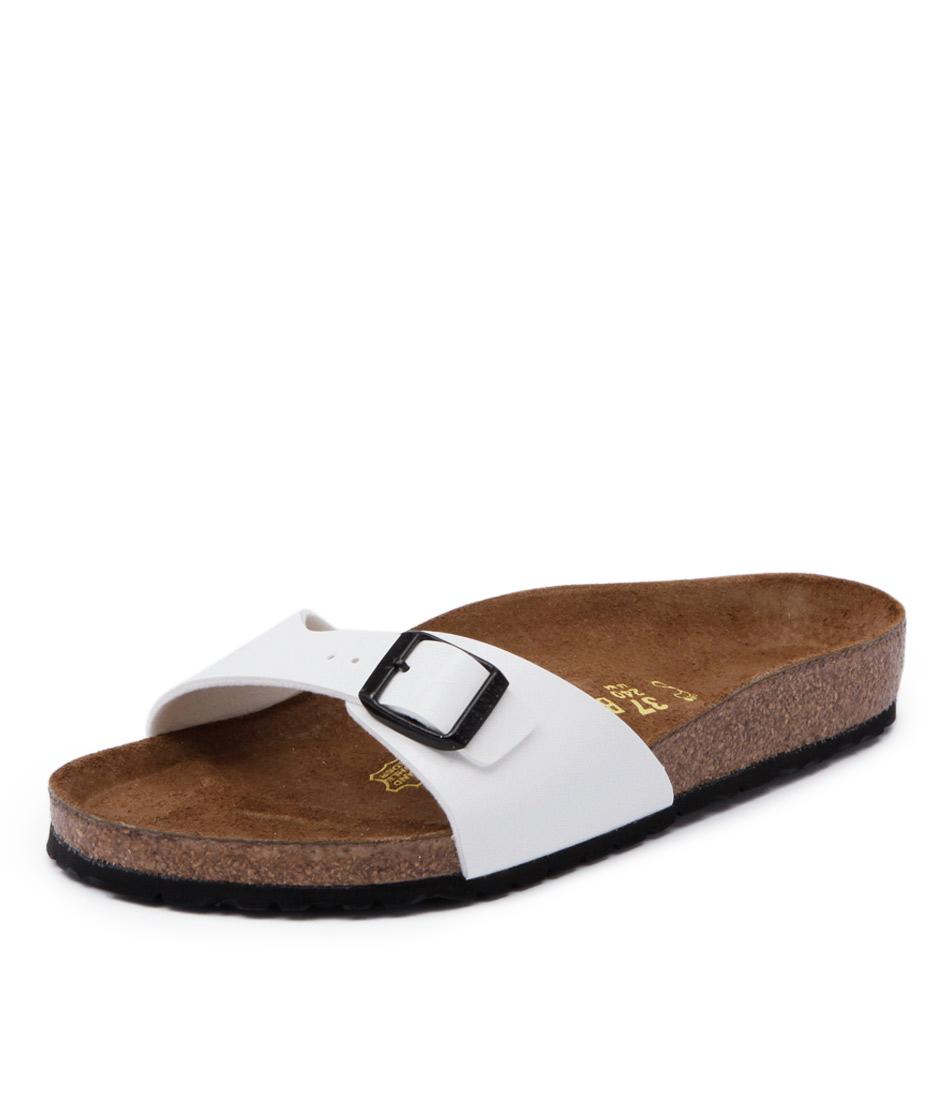 Birkenstock Madrid White Patent Sandals