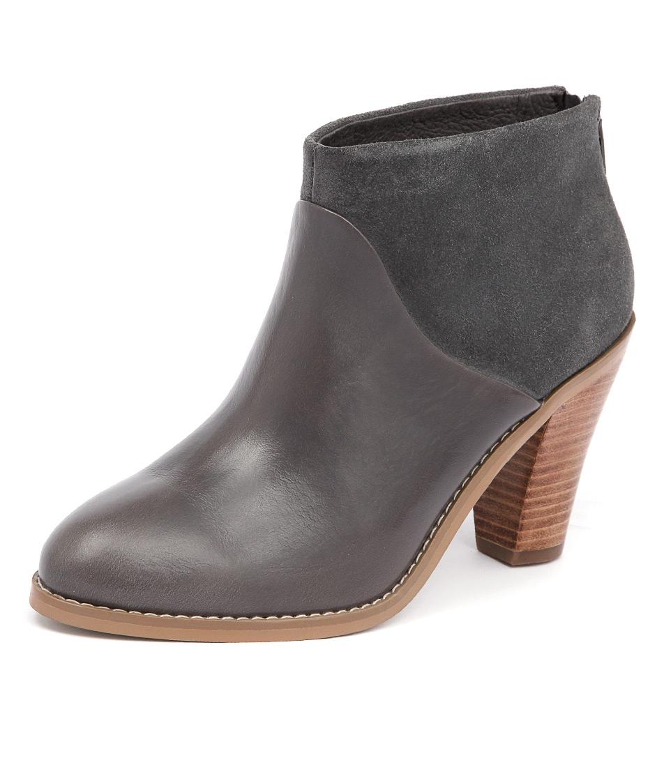 Diana Ferrari Rhinestone Grey Boots