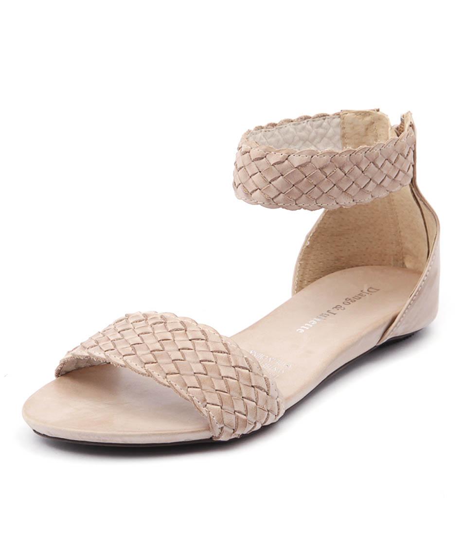 Django & Juliette Garro Beige Sandals