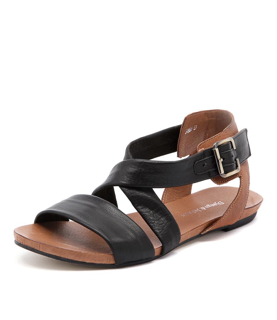 Django & Juliette Jobby Black-Tan Sandals online