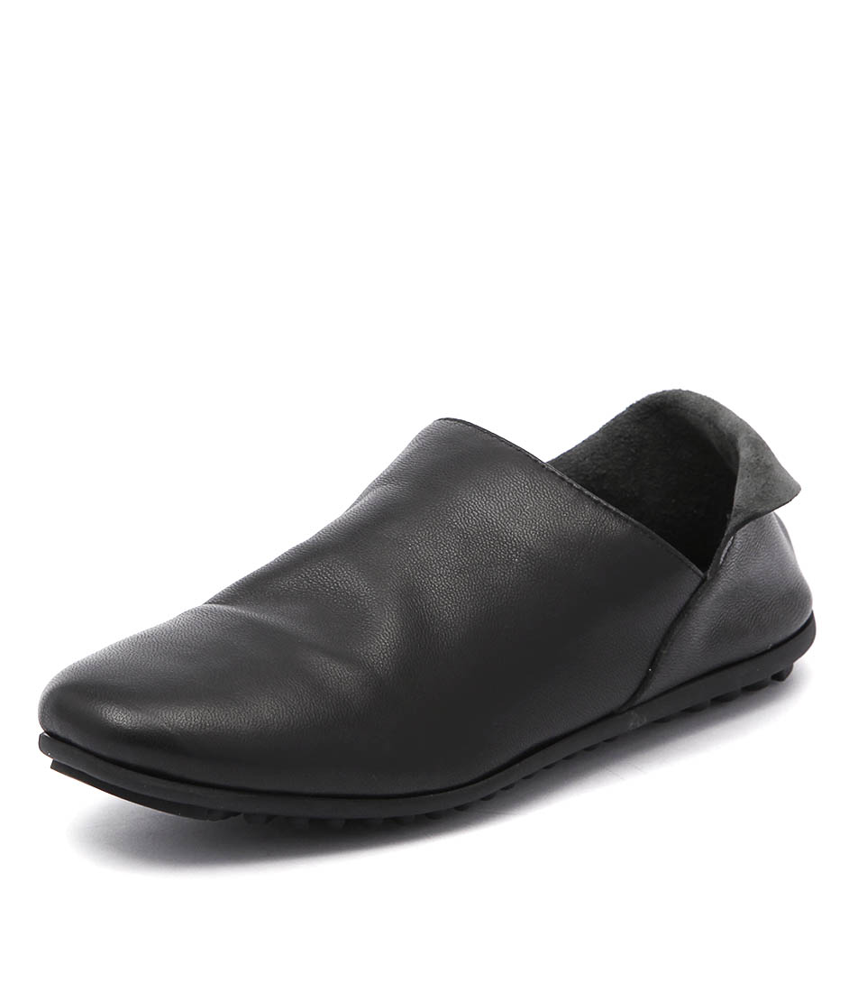 Django & Juliette Bellboy Black Loafers