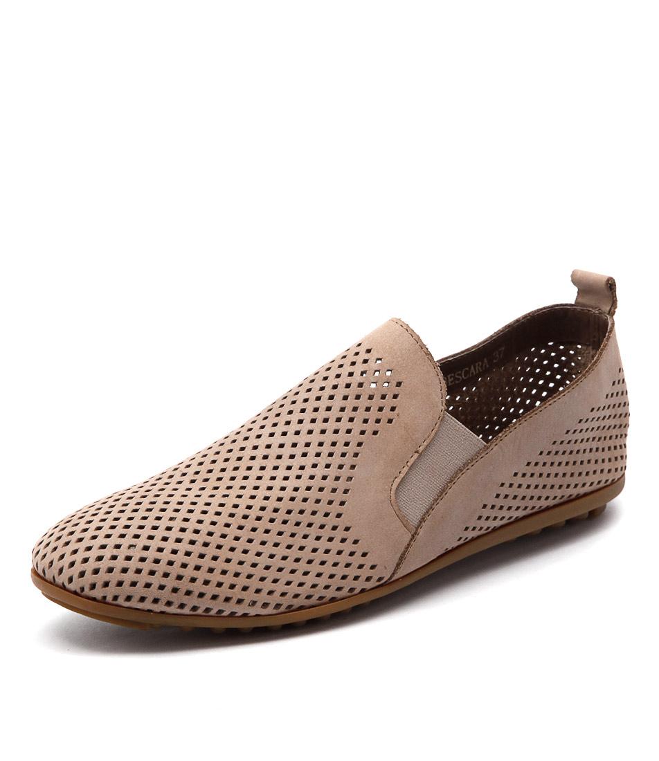 Django & Juliette Bescara Latte Shoes