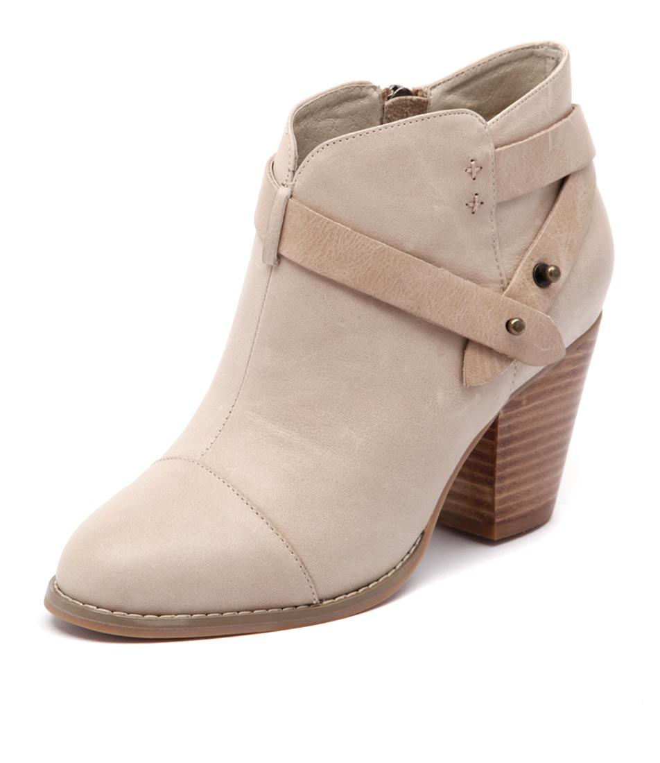 Django & Juliette Rapt Beige Leather Boots online