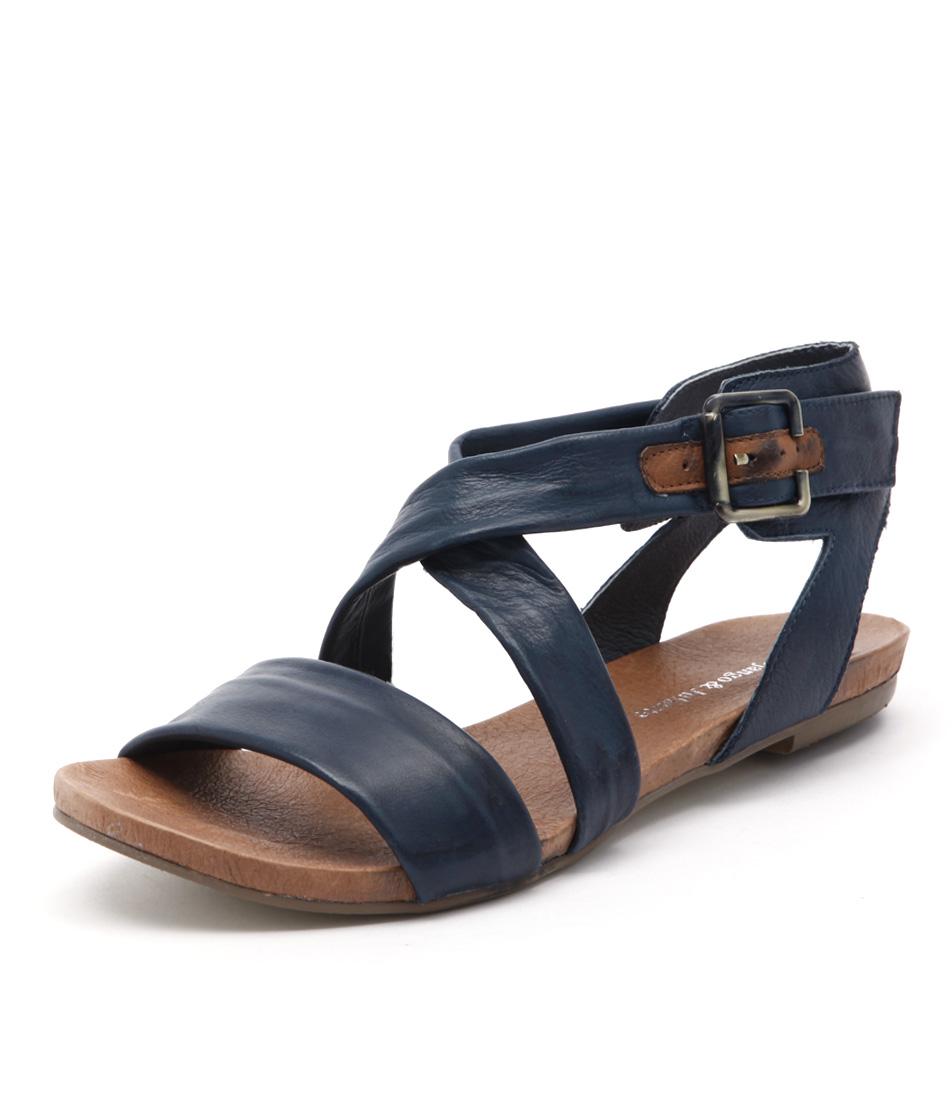 Django & Juliette Jobby Denim All Over Sandals