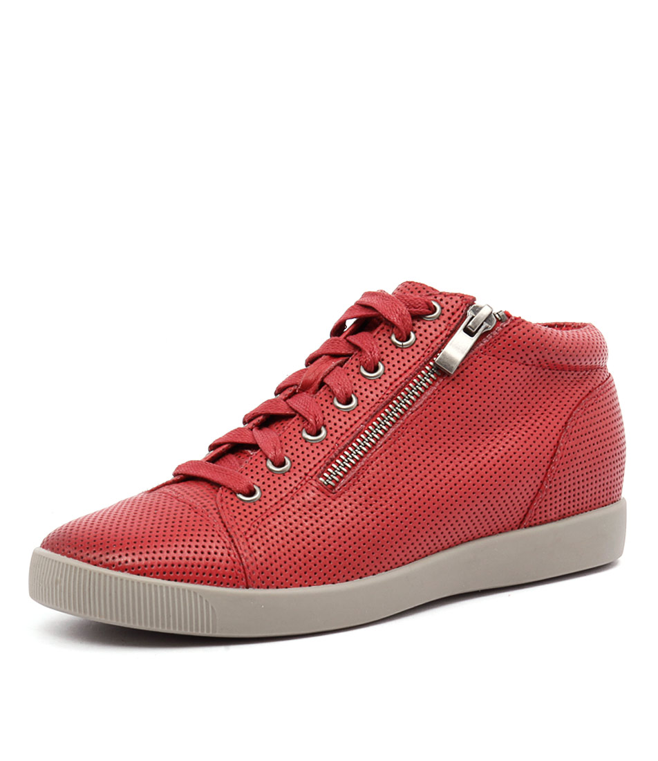 Django & Juliette Getgo Red Pinpunch Sneakers