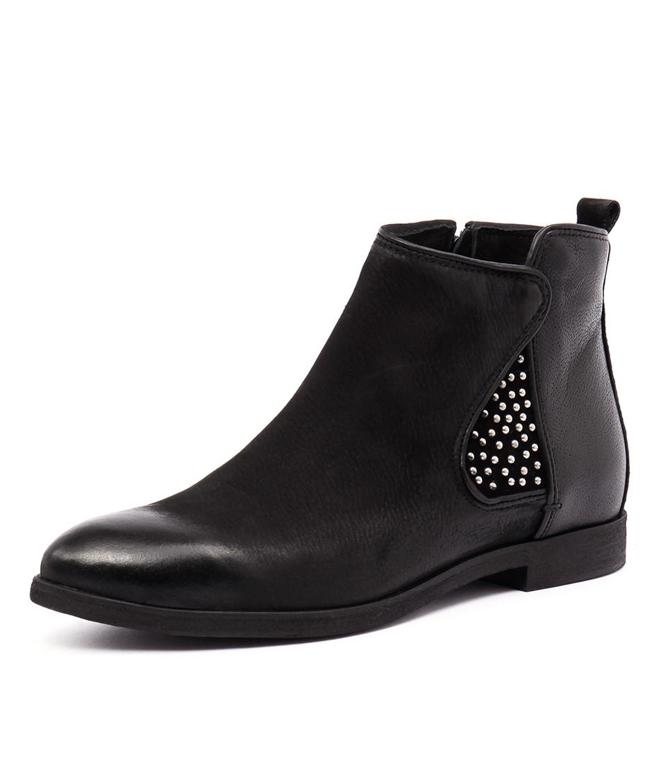 Django & Juliette Brody 183-107FY Nero Shoes