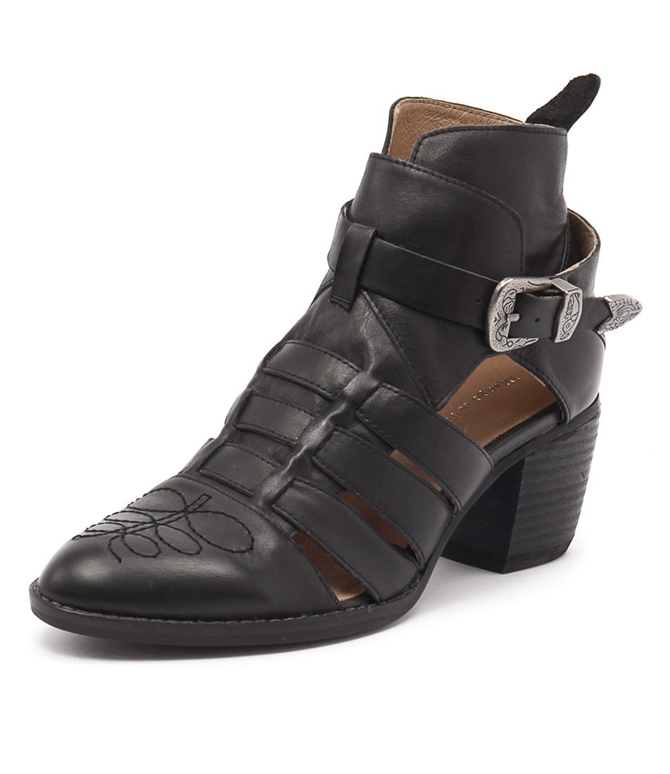 Django & Juliette Barny Black Boots