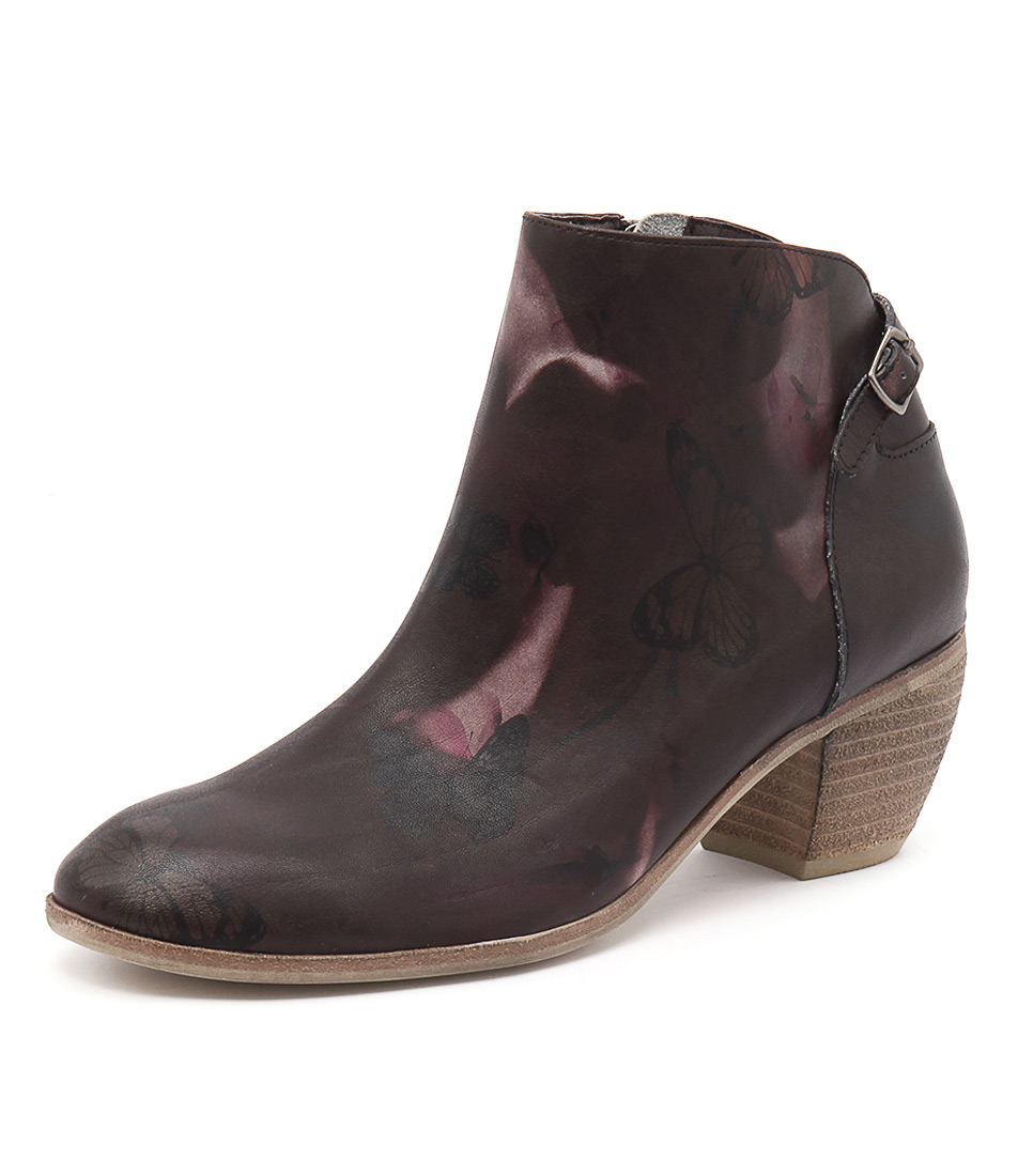 Django & Juliette Maddy Floral Butterfly Boots