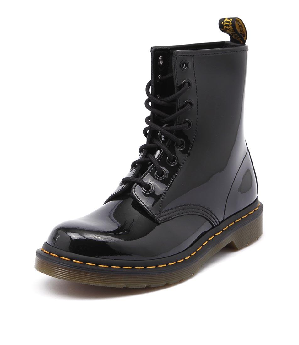Dr. Martens 1460 Boot Black Patent Boots