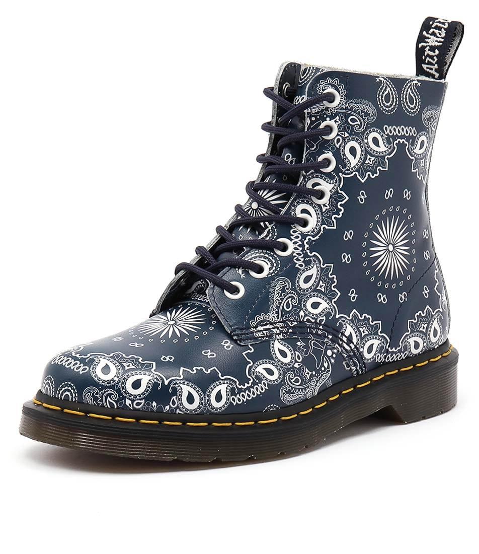 Dr. Martens Pascal 8 Eye Boot Bandana Boots