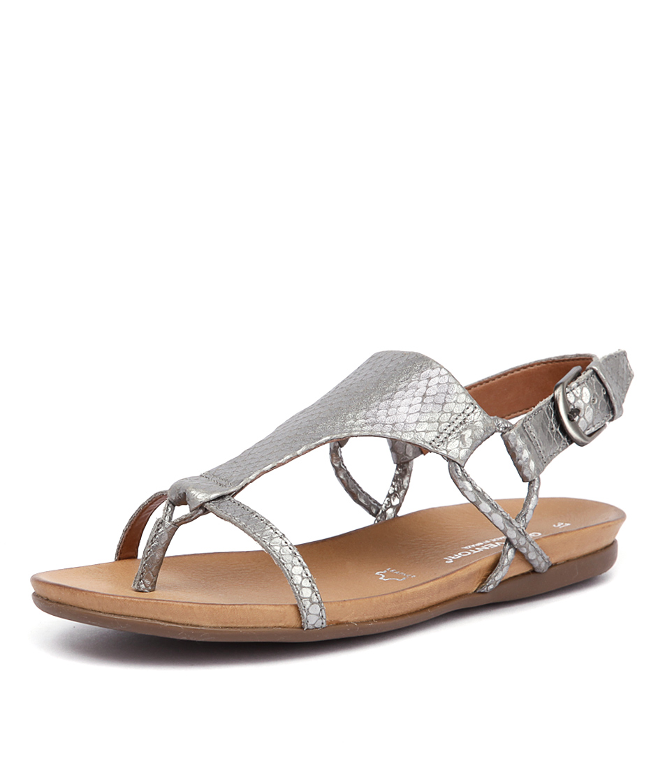 Gino Ventori Mexico Pewter Sandals