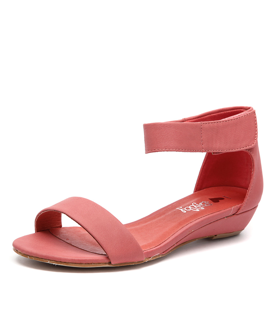 I Love Billy Marlena Melon Smooth Sandals