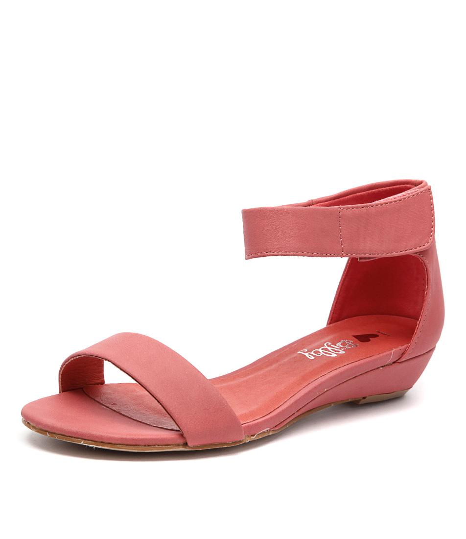 I Love Billy Marlena Melon Smooth Sandals