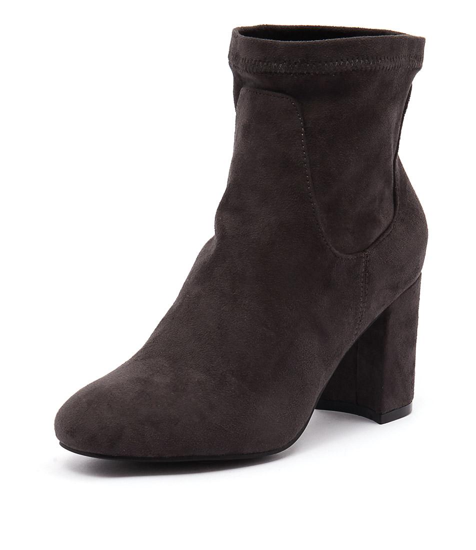 Lavish Izaro Grey Boots