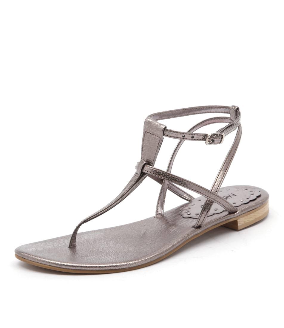 Misano Shizu Pewter Sandals online