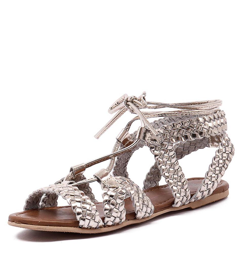 Mollini Swizz Gold Sandals