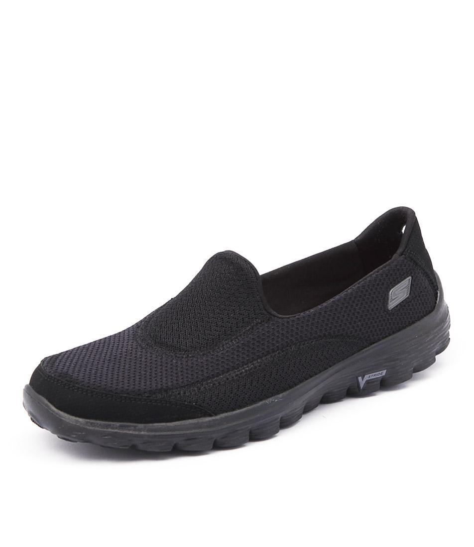 Skechers Go Walk 2 Black Sneakers