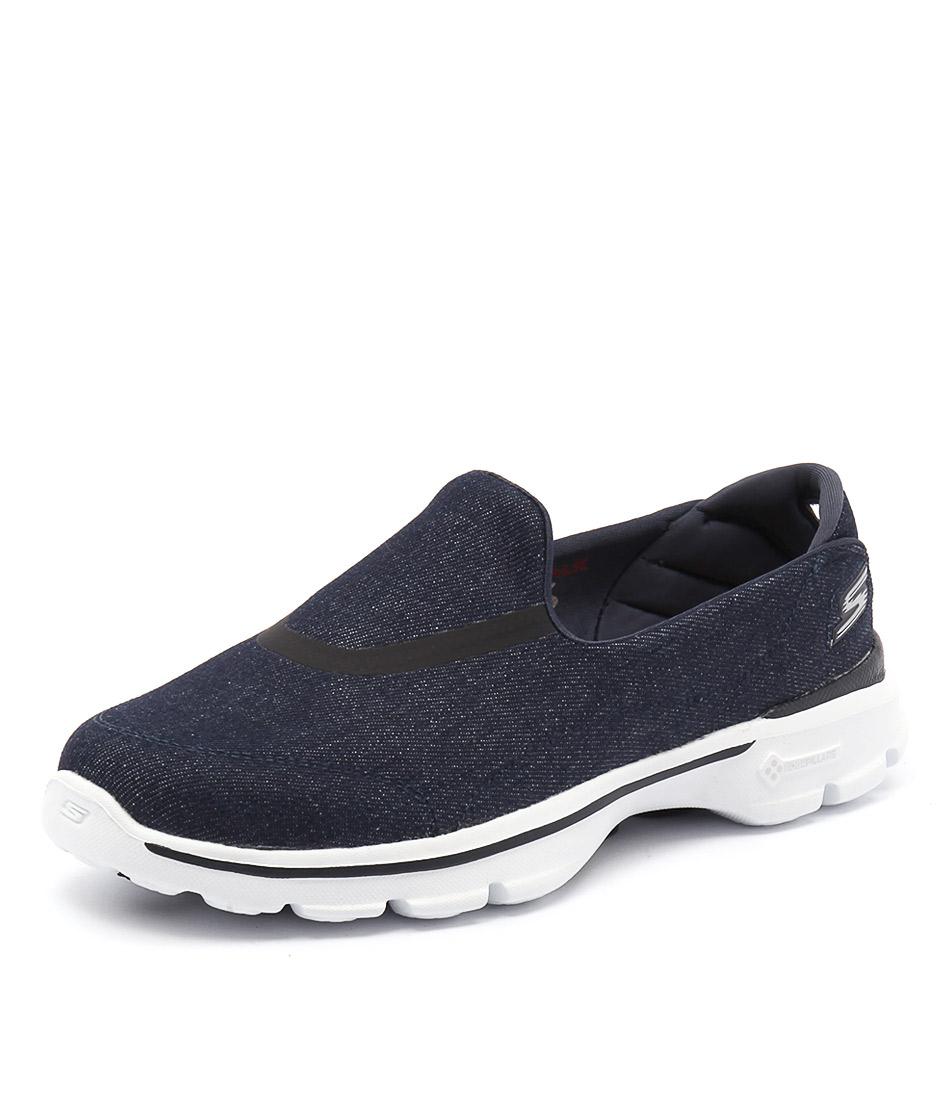 Skechers Go Walk 3 Enthuse Denim Sneakers online