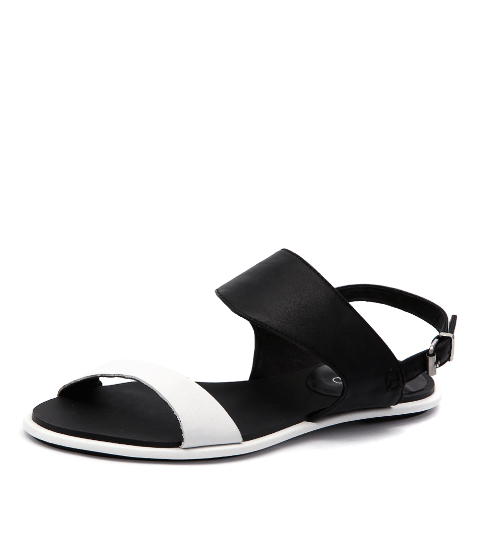 Top End Hiros White-Black Sandals