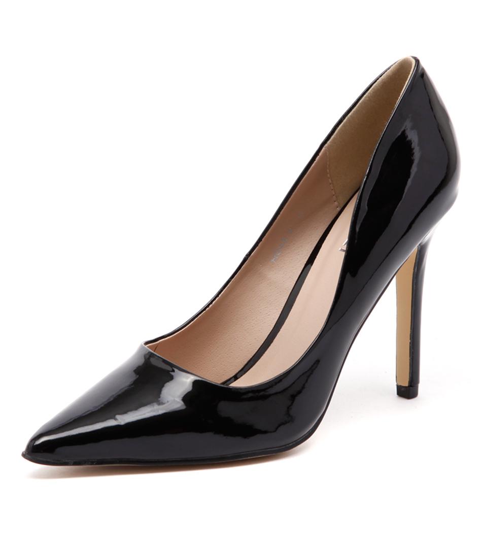 Verali Harold Black Patent Dress Pumps
