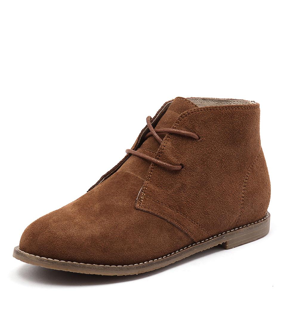 Walnut Melbourne Kayden Tan Boots