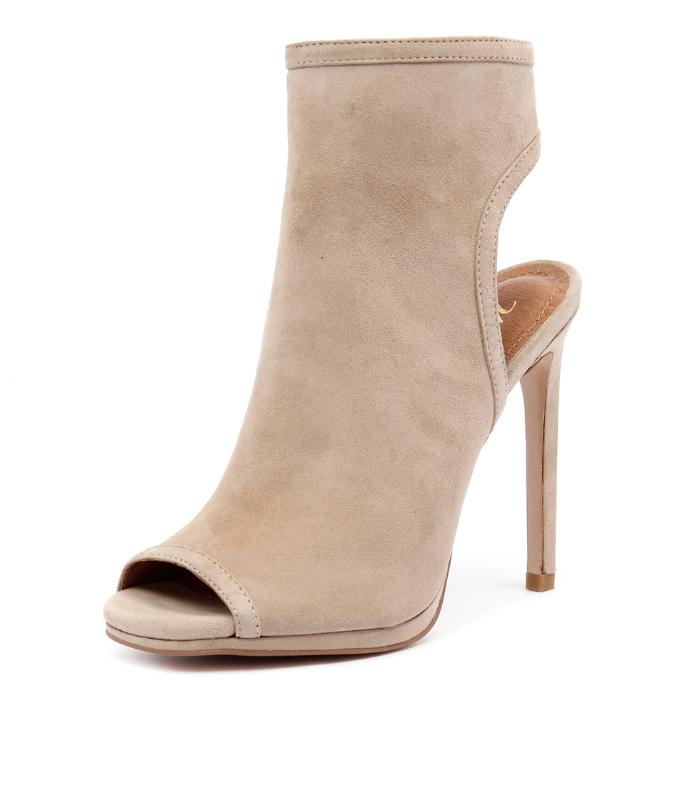 Wanted Carella Nude Suede Boots