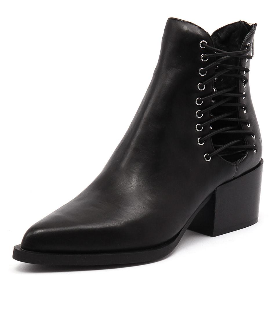 Windsor Smith Edme Black Boots