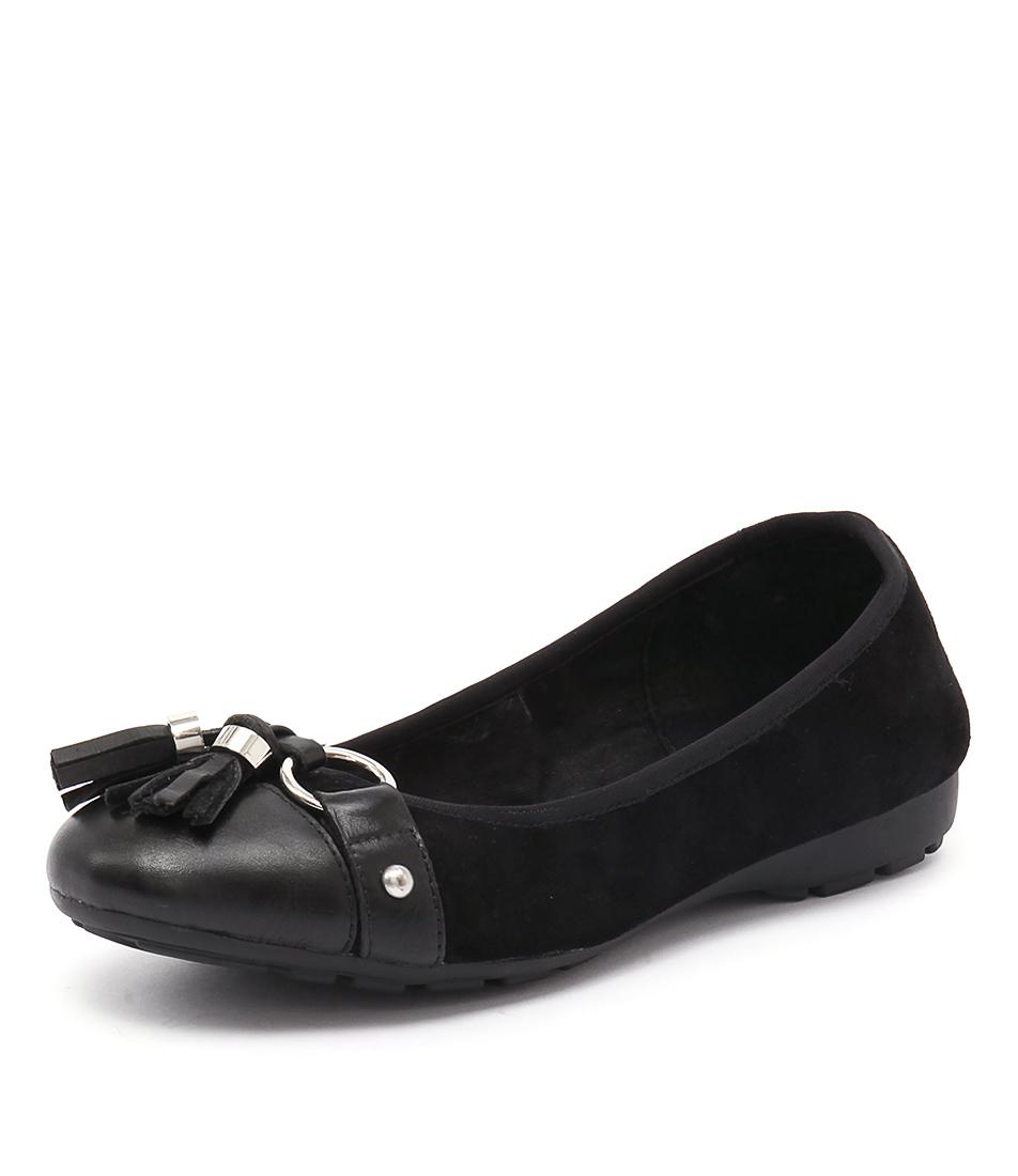 Zensu Paige Black Flats